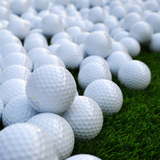 2 Layers surlyn golf ball Dimples with good quality